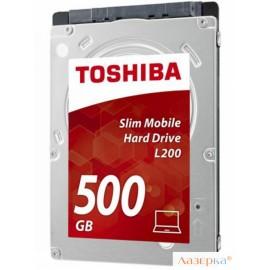 Жесткий диск Toshiba L200 Slim HDWK105EZSTA 500GB