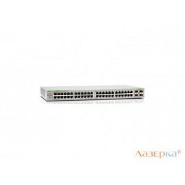 Коммутатор Allied Telesis AT-GS950/48PS-50 48 портов 10/100/1000Mbps PoE+/SFP