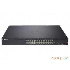 Коммутатор Dell N4032 управляемый 24 порта 10/100/1000/10000Mbps 210-ABVS/001