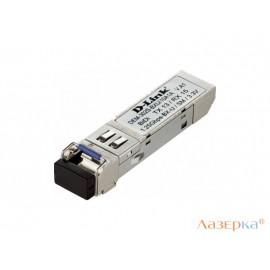 Трансивер сетевой D-Link DEM-302S-BXU/10А1А 1-port mini-GBIC 1000Base-BX SMF WDM
