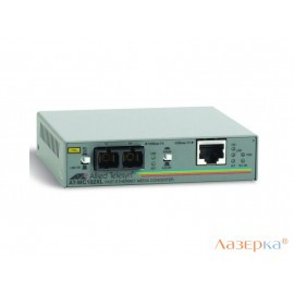 Медиаконвертер Allied Telesis AT-MC102XL 100TX RJ-45 to 100FX SC Fast Ethernet media converter