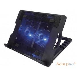 """Подставка для ноутбука 15.6"""" Crown CMLS-940 265x370x50mm USB 25dB черный"""