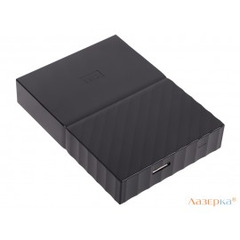 Внешний жесткий диск WD My Passport 1Tb Black (WDBBEX0010BBK-EEUE)