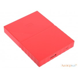 Внешний жесткий диск WD My Passport 1Tb Red (WDBBEX0010BRD-EEUE)