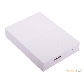Внешний жесткий диск WD My Passport 1Tb White (WDBBEX0010BWT-EEUE)