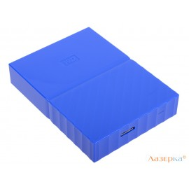Внешний жесткий диск WD My Passport 4Tb Blue (WDBUAX0040BBL-EEUE)