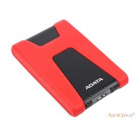 """Внешний жесткий диск 2.5"""" USB3.0 1Tb A-Data AHD650-1TU3-CRD красный"""