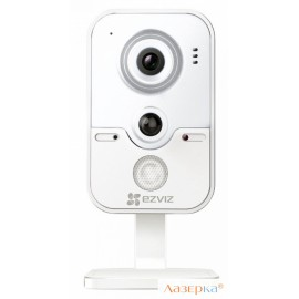 "IP-камера EZVIZ C2W CMOS 1/4"" 1280 x 720 H.264 RJ-45 LAN Wi-Fi PoE белый CS-CV100-B0-31WPFR"