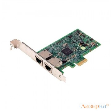 Сетевая карта Dell Broadcom 5720 Network Adapter 540-BBGY, 2x1GbE (RJ-45), TOE and iSCSI Offload, PCIE2.0, Full Height, analog 540-11134