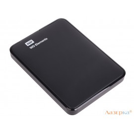 Внешний жесткий диск WD Elements Portable 500Gb Black (WDBUZG5000ABK-WESN)