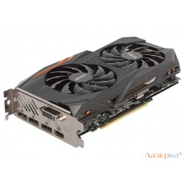 Видеокарта GIGABYTE Radeon RX 580 AORUS 8G GV-RX580AORUS-8GD 8Gb 1340MHz
