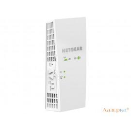 Ретранслятор NetGear EX7300-100PES 802.11aс 2200Mbps 5 ГГц 2.4 ГГц 1xLAN белый