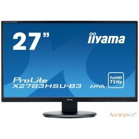 Монитор жидкокристаллический Iiyama X2783HSU-B3 Монитор LCD 27'' [16:9] 1920х1080 MVA, nonGLARE, non