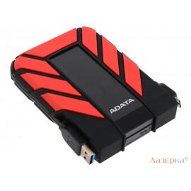 Внешний жесткий диск 2Tb Adata HD710P AHD710P-2TU31-CRD черный/красный