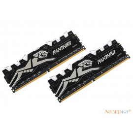 Память DDR4 16Gb 2x8GB (pc-19200) 2400MHz Apacer Panther Rage w/HS Retail