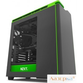 "Корпус NZXT CA-H442W-M9 H440 NEWEDITION""MIDTOWERW/WINDOWBLACK/GREEN"""