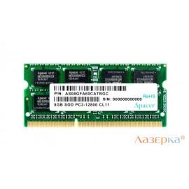 Оперативная память для ноутбуков Apacer AS08GFA60CATBGC/DS.08G2K.KAM SO-DIMM 8GB DDR3 1600MHz Retail