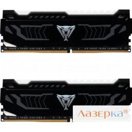 Оперативная память Patriot Viper4 PVLW416G320C6K LED WHITE 2x8GB DDR4 3200MHz