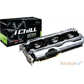 Видеокарта Inno3D GeForce GTX 1070 iChill X3 V2 C107C3-3SDN-P5DSX 8GB 1582 MHz