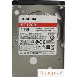 Жесткий диск Toshiba HDWL110UZSVA L200 Slim 1Tb