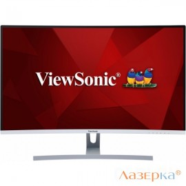"Монитор 32"" ViewSonic VX3217-2KC-MHD черный VA LED 5ms 16:9 HDMI DisplayPort M/M Mat 80000000:1 250c"
