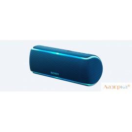 Беспроводная портативная акустика Sony SRS-XB21 Синий Bluetooth /4.2, NFC, micro USB, Стереофонический мини-разъем, Extra BASS, Party Booster, LIVE
