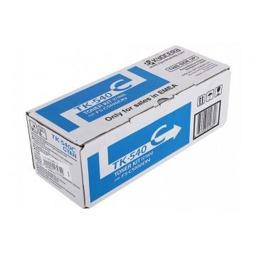 Kyocera TK-540C | 1T02HLCEU0 оригинальный тонер картридж - голубой , 4000 стр