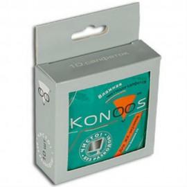 Konoos KTS-10 Чистящие салфетки в индивидуальной упаковке для ЖК-экранов 10шт.