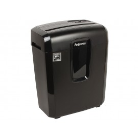 Шредер Fellowes Microshred 8MC, DIN P-4/P-5, 3х10мм, 8лст., 14лтр.,уничт.: скобы, пл.карты