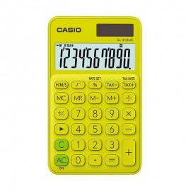 Калькулятор карманный CASIO SL-310UC-YG-S-EC 10-разрядный желтый/зеленый