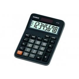 Калькулятор настольный CASIO MX-8B 8-разрядный черный/коричневый