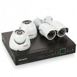 Комплект видеонаблюдения Falcon Eye FE-104MHD Kit Офис 2 камеры 4-х канальный видеорегистратор