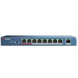 Коммутатор Hikvision Hikvision DS-3E0109P-E 9-ports 10/100Mbps