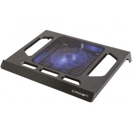 "Подставка для ноутбука 15.6"" Crown CMLS-910 290x350x45mm USB 450g черный"