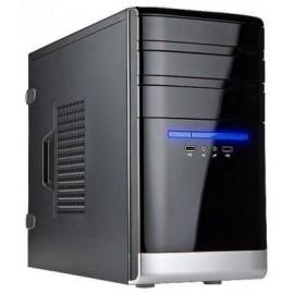 Корпус INWIN EMR038BL USB3.0 (Mini Tower, mATX, без БП, 2xUSB3.0+Audio, черно-серебристый) 6120899