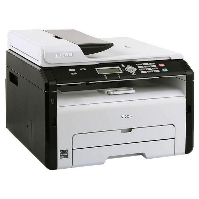 Принтер Ricoh Aficio SP 311DNw (Лазерный 28 стр/мин 1200х600dpi duplex LAN WiFi USB А4)