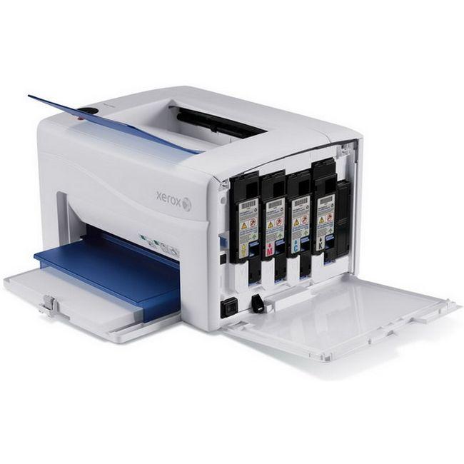 Xerox phaser 6010 n, сетевой интерфейс, универсальная кассета подачи бумаги на 150 листов формата a4