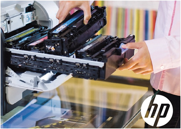Цветной лазерный принтер HP